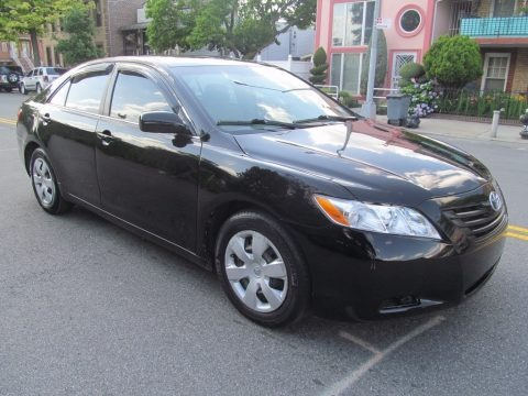 Black 2009 Toyota Camry LE