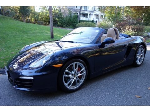 Dark Blue Metallic 2016 Porsche Boxster S