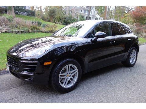 Black 2017 Porsche Macan