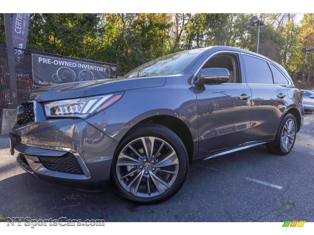 2017 MDX Technology SH-AWD - Modern Steel Metallic / Graystone photo #1