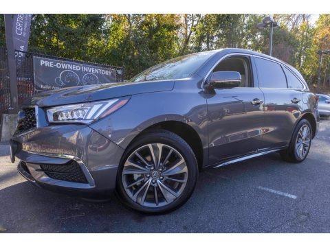 Modern Steel Metallic 2017 Acura MDX Technology SH-AWD