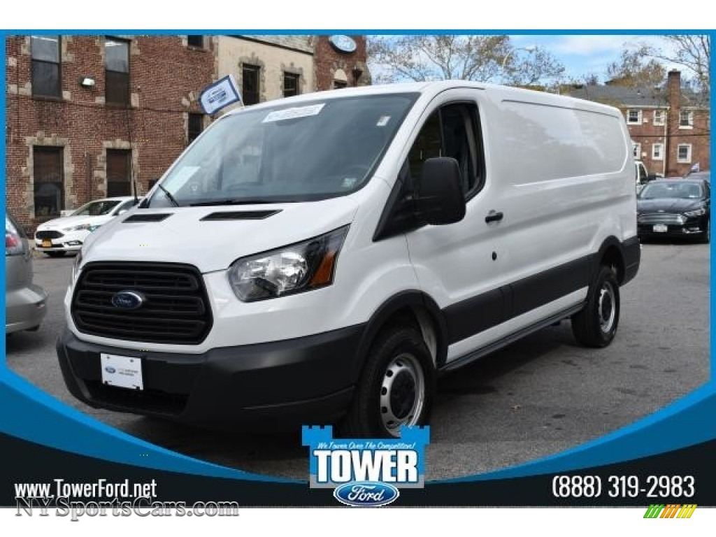 2017 Transit Van 250 LR Regular - Oxford White / Pewter photo #1