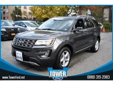 Magnetic Metallic 2016 Ford Explorer XLT 4WD