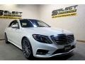 Mercedes-Benz S 550 4Matic Sedan designo Diamond White Metallic photo #3