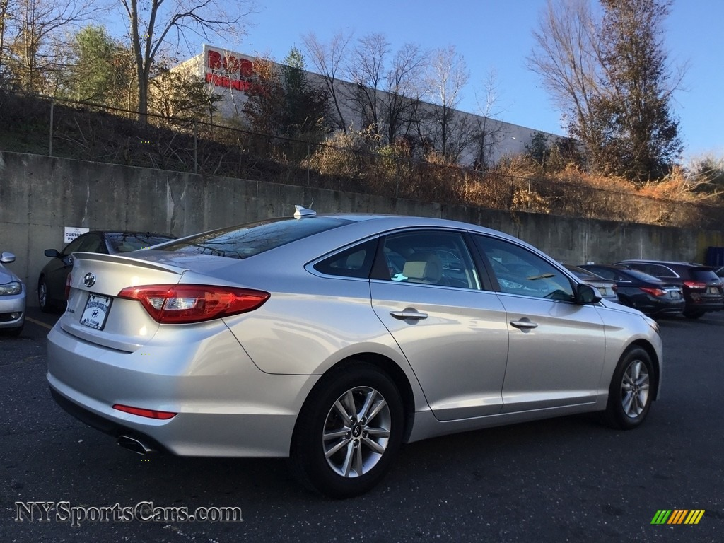 2016 Sonata SE - Symphony Silver / Gray photo #4