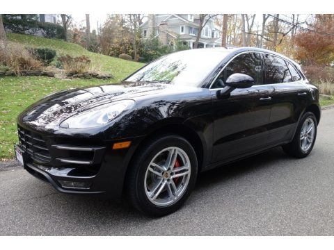 Black 2015 Porsche Macan Turbo