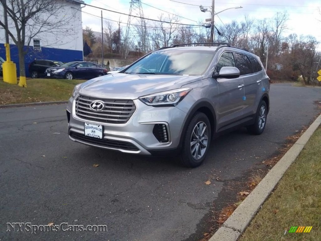 2018 Santa Fe SE AWD - Circuit Silver / Gray photo #1