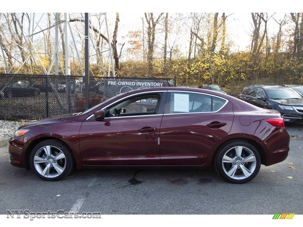 2013 ILX 2.0L Technology - Crimson Garnet / Parchment photo #3