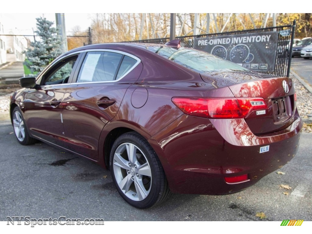 2013 ILX 2.0L Technology - Crimson Garnet / Parchment photo #4