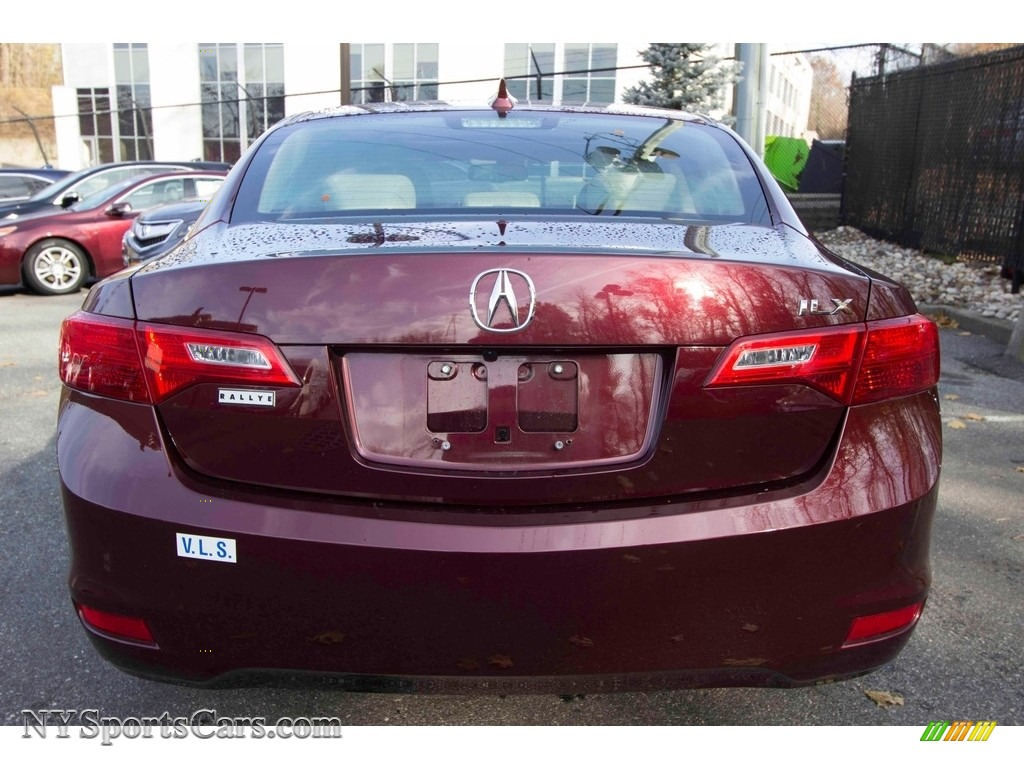 2013 ILX 2.0L Technology - Crimson Garnet / Parchment photo #5