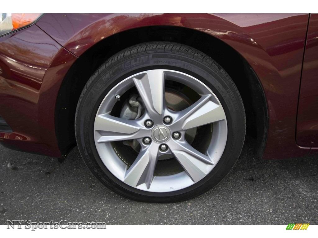 2013 ILX 2.0L Technology - Crimson Garnet / Parchment photo #11