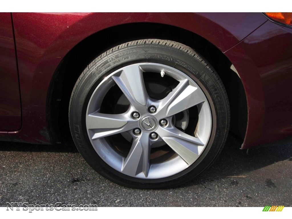 2013 ILX 2.0L Technology - Crimson Garnet / Parchment photo #14