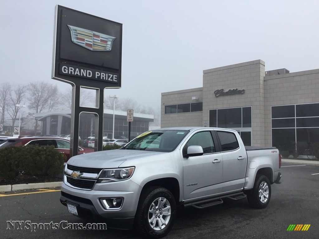 2017 Colorado LT Crew Cab 4x4 - Silver Ice Metallic / Jet Black photo #1