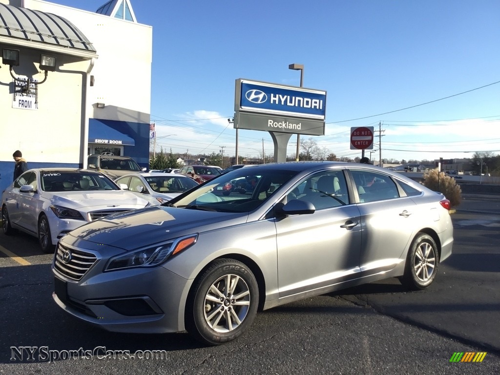 2016 Sonata SE - Shale Gray Metallic / Gray photo #1
