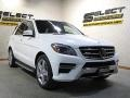 Mercedes-Benz ML 350 4Matic Polar White photo #3