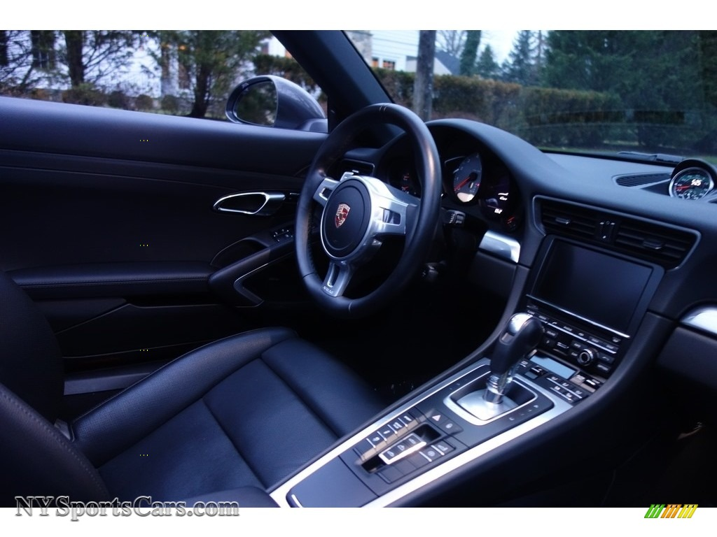 2015 911 Carrera S Cabriolet - Agate Grey Metallic / Black photo #18