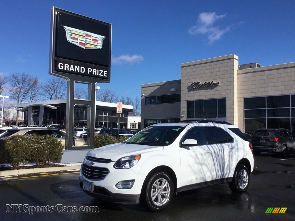 2016 Equinox LT AWD - Summit White / Jet Black photo #1