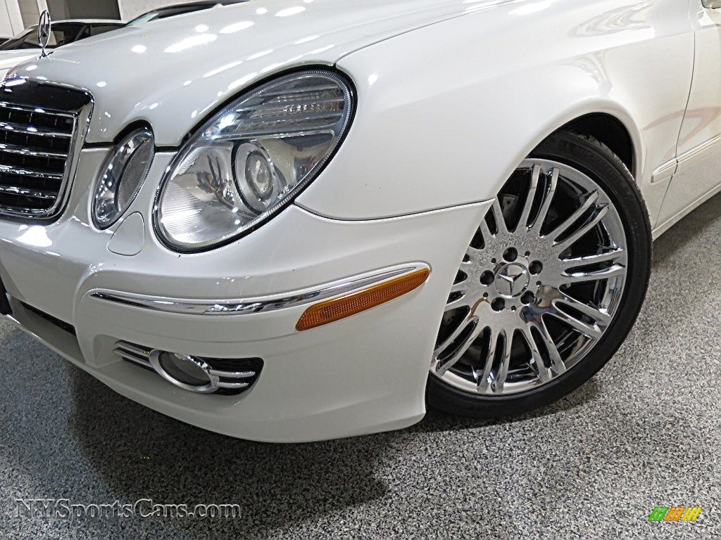 2007 E 350 Sedan - Arctic White / Cashmere photo #7