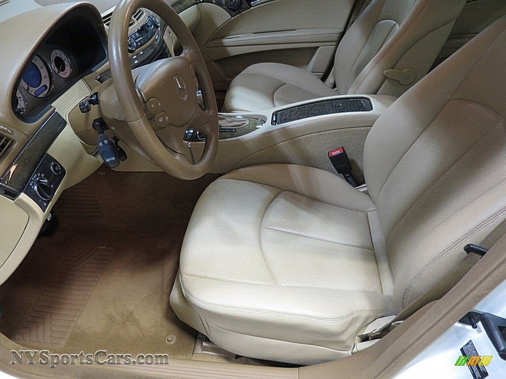 2007 E 350 Sedan - Arctic White / Cashmere photo #11