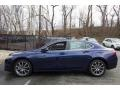 Acura TLX V6 Technology Sedan Fathom Blue Pearl photo #3