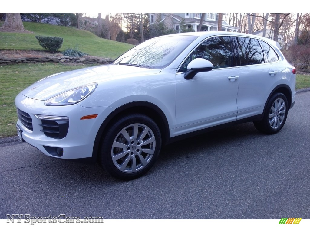 2015 Cayenne S - Carrara White Metallic / Luxor Beige photo #1