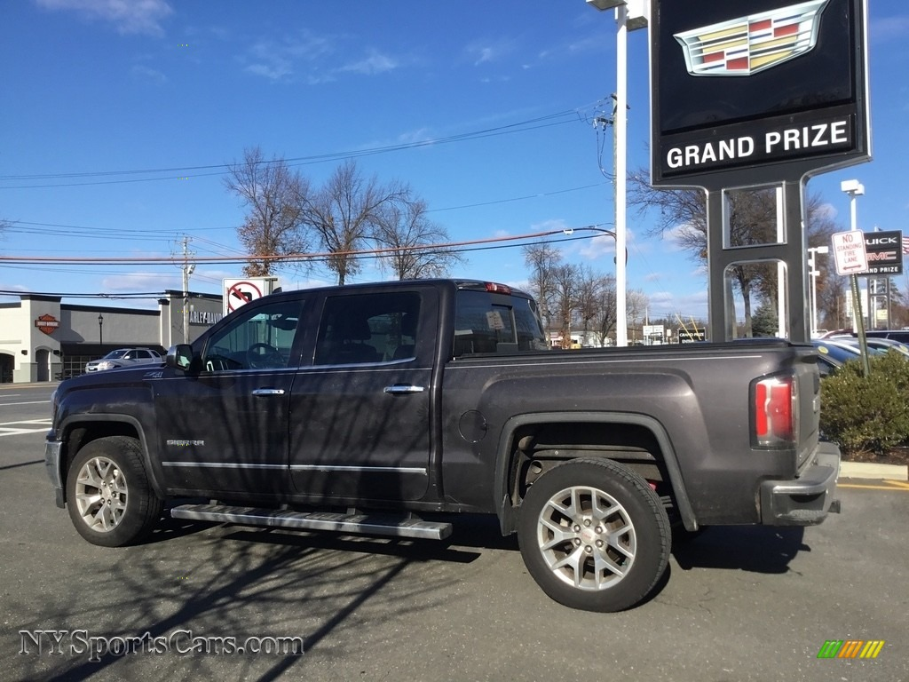 2016 Sierra 1500 SLT Crew Cab 4WD - Light Steel Gray Metallic / Jet Black photo #7