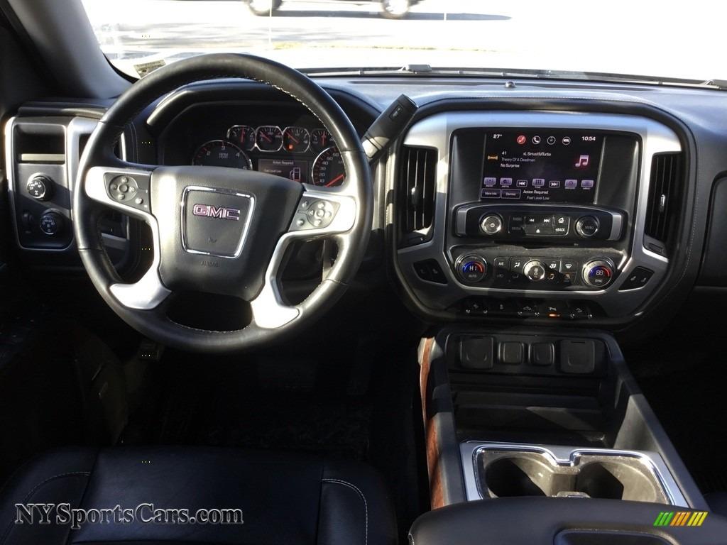 2016 Sierra 1500 SLT Crew Cab 4WD - Light Steel Gray Metallic / Jet Black photo #9