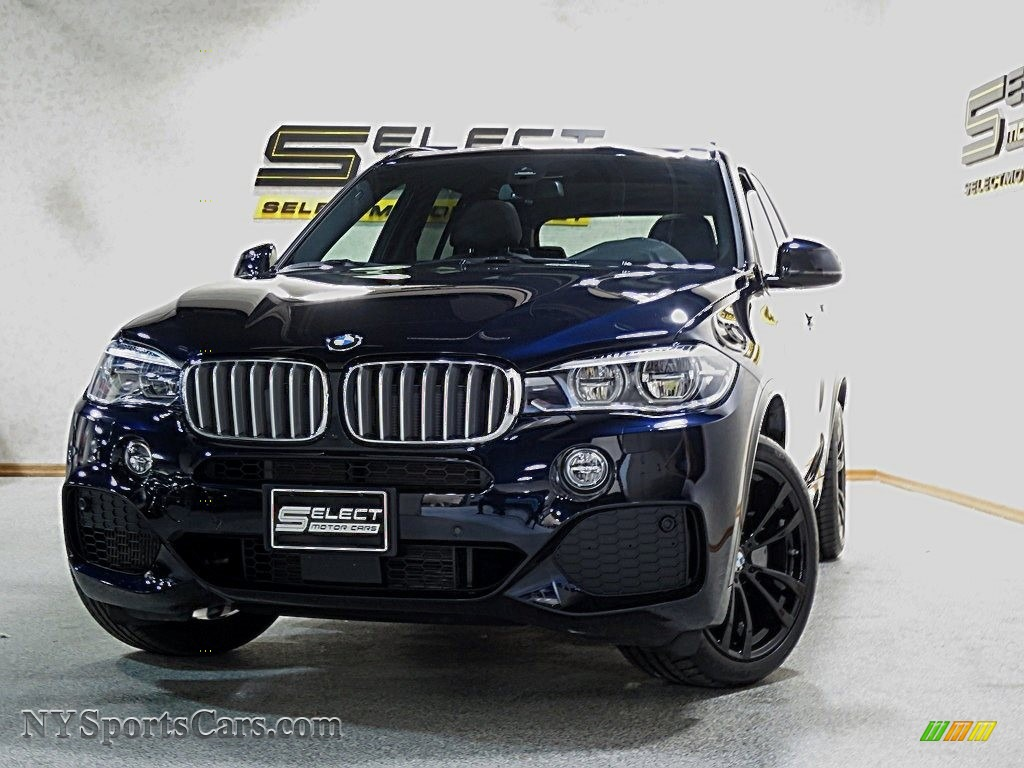2017 Bmw X5 Xdrive50i In Carbon Black Metallic U13936