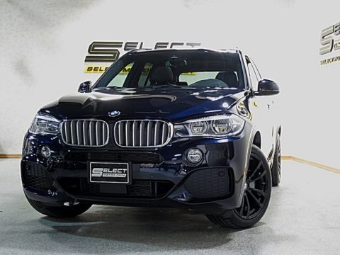 Carbon Black Metallic 2017 BMW X5 xDrive50i