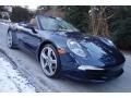 Porsche 911 Carrera Cabriolet Dark Blue Metallic photo #9