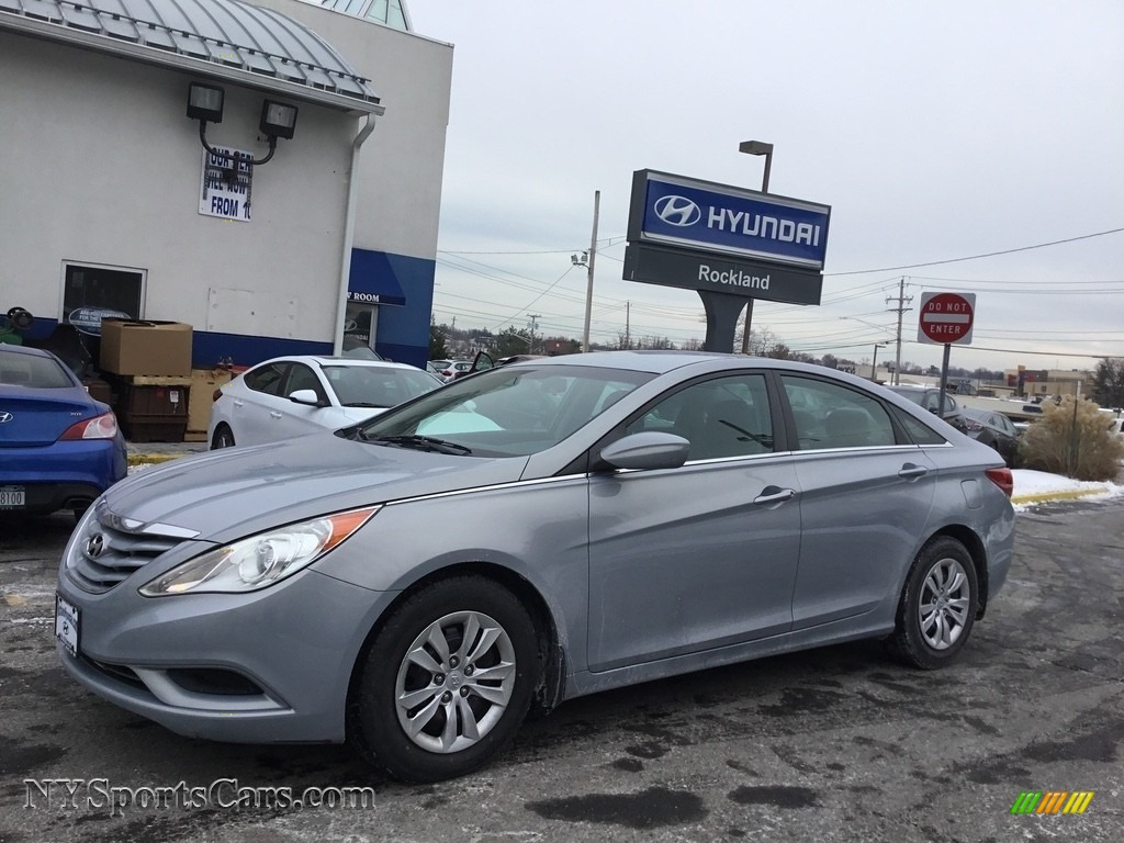 2011 Sonata GLS - Radiant Silver / Gray photo #1