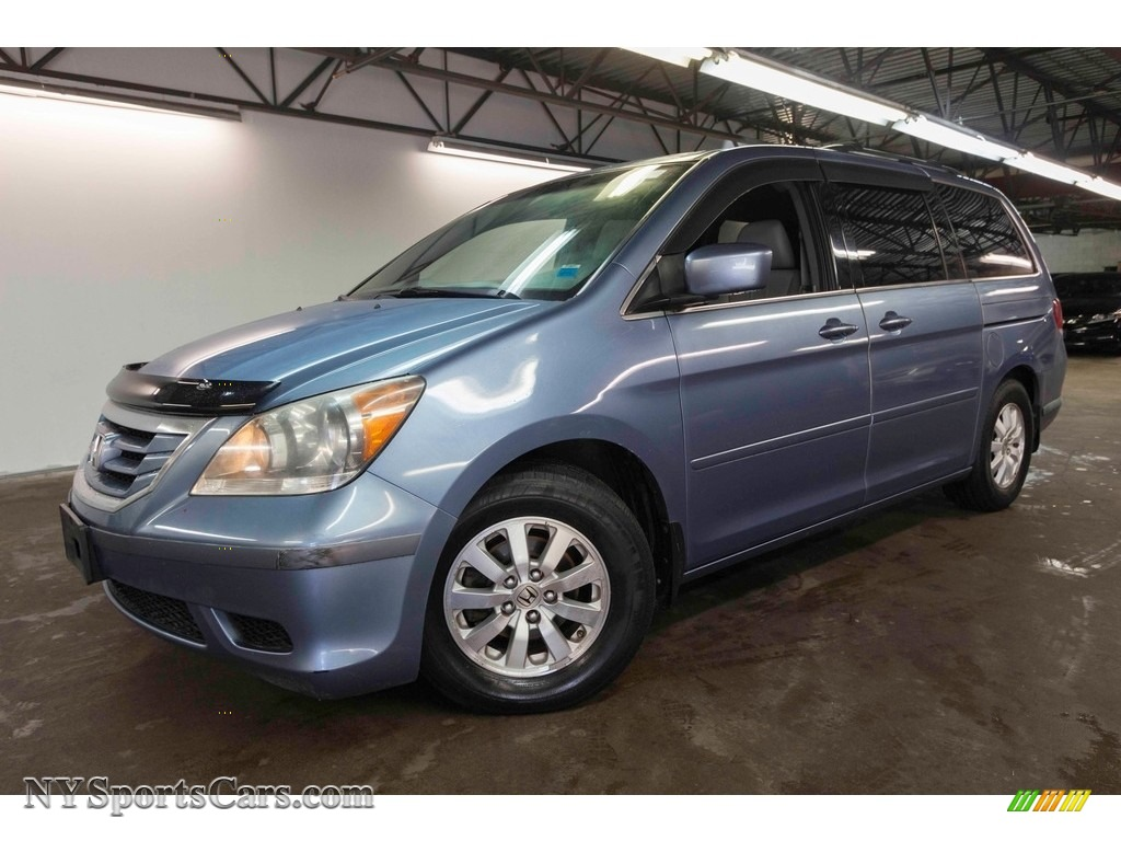 2008 Odyssey EX-L - Ocean Mist Metallic / Gray photo #1