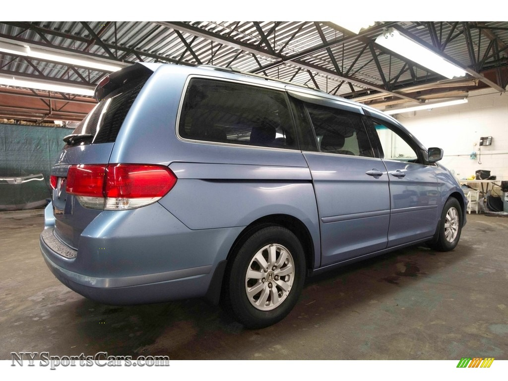 2008 Odyssey EX-L - Ocean Mist Metallic / Gray photo #7