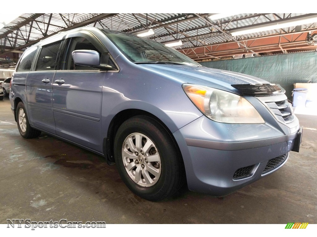 2008 Odyssey EX-L - Ocean Mist Metallic / Gray photo #9