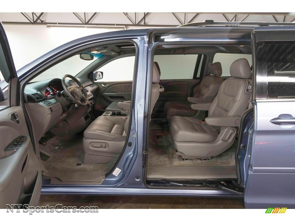 2008 Odyssey EX-L - Ocean Mist Metallic / Gray photo #13