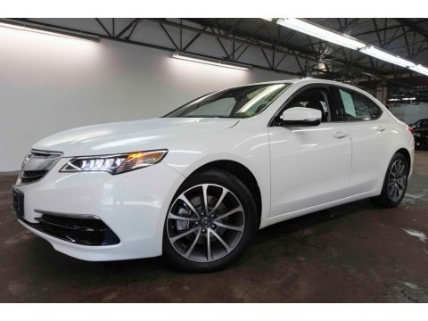 Bellanova White Pearl 2017 Acura TLX V6 SH-AWD Technology Sedan