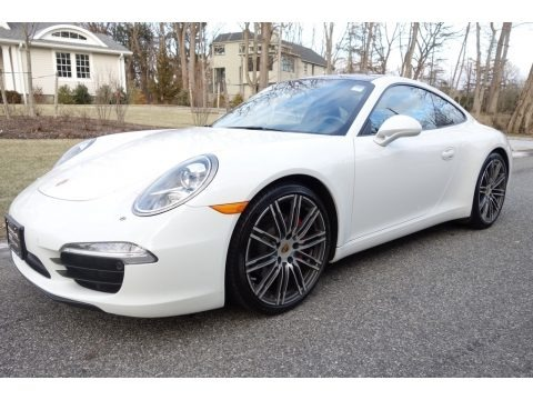 White 2015 Porsche 911 Carrera S Coupe