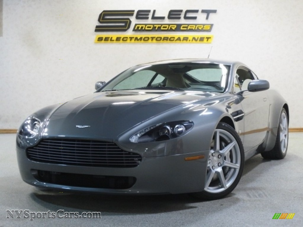 2006 V8 Vantage Coupe - Mercury Silver / Sandstorm photo #1