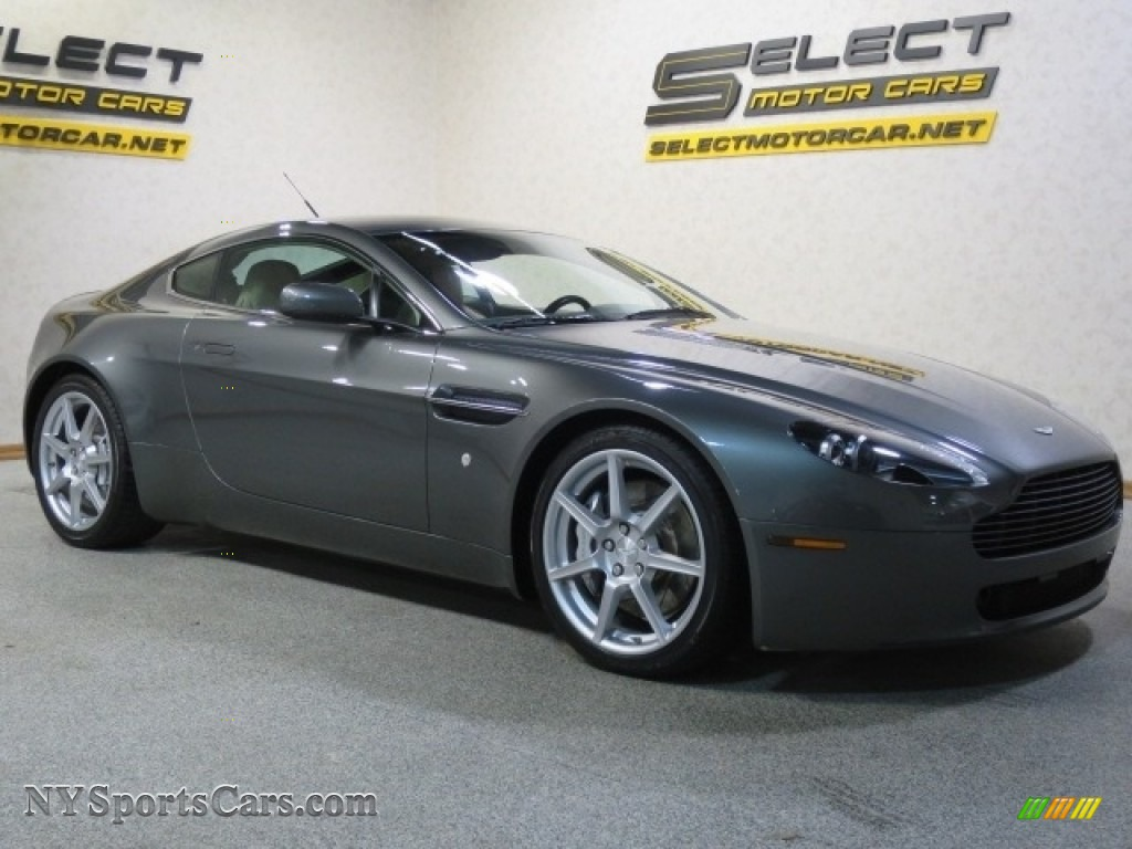 2006 V8 Vantage Coupe - Mercury Silver / Sandstorm photo #3