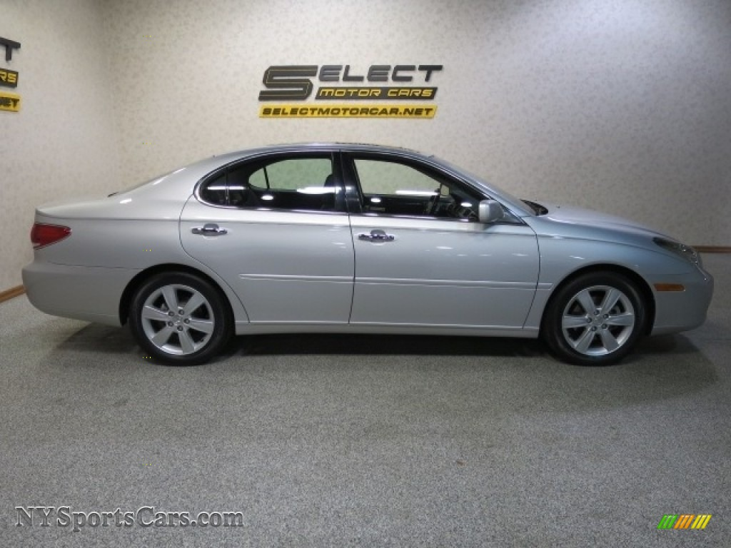 2005 ES 330 - Classic Silver Metallic / Black photo #4