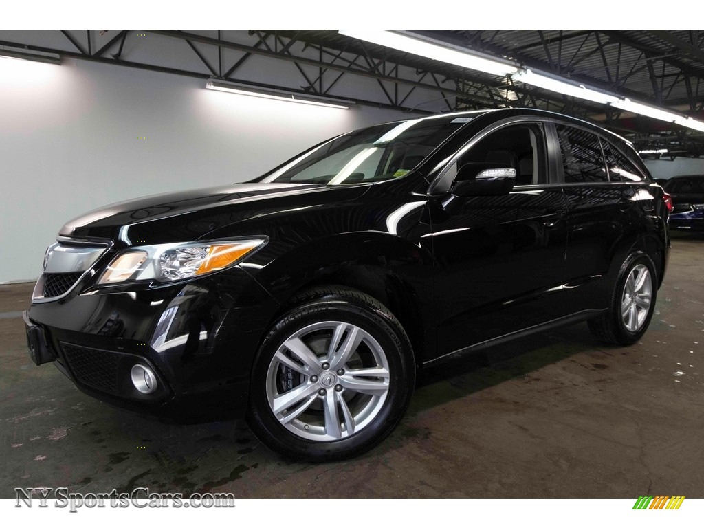 2015 RDX Technology - Crystal Black Pearl / Ebony photo #1
