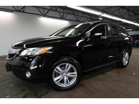 Crystal Black Pearl 2015 Acura RDX Technology