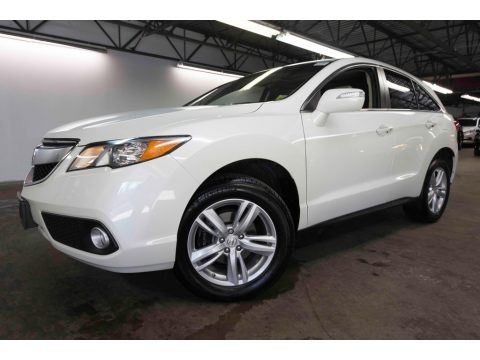 White Diamond Pearl 2015 Acura RDX Technology