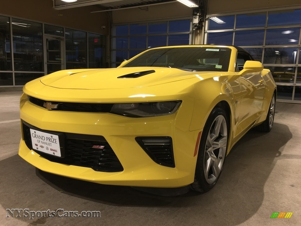 2017 Camaro SS Convertible - Bright Yellow / Jet Black photo #1