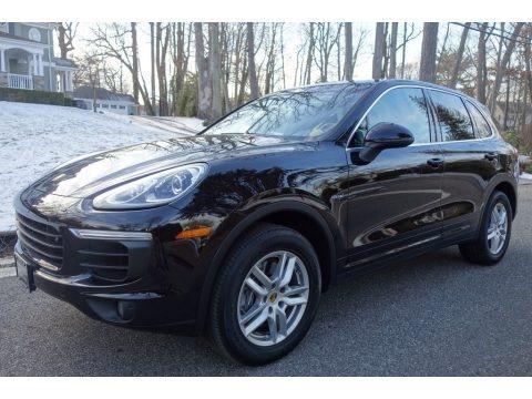 Black 2015 Porsche Cayenne Diesel