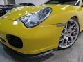 Porsche 911 Turbo Coupe Speed Yellow photo #13
