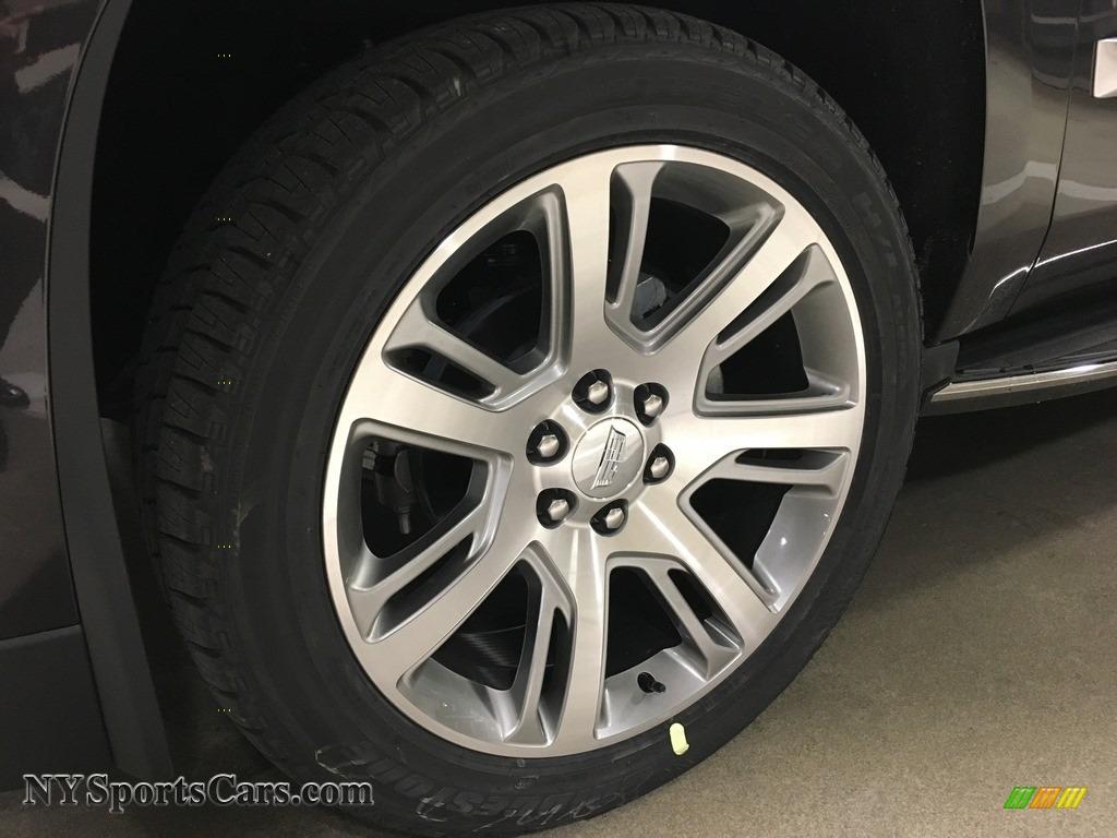 2018 Escalade Premium Luxury 4WD - Dark Granite Metallic / Kona Brown/Jet Black photo #3