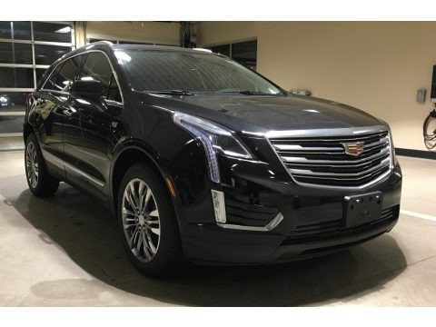 Stellar Black Metallic 2018 Cadillac XT5 Premium Luxury