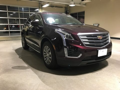 Deep Amethyst Metallic 2018 Cadillac XT5 Luxury AWD
