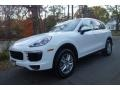Porsche Cayenne Diesel White photo #1